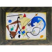 Quadro Decorativo A4 Throughgoing Line 1923 - Kandinsky Cosi Dimora