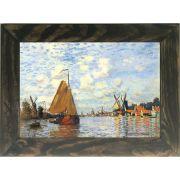 Quadro Decorativo A4 Zaan at Zaandam - Claude Monet Cosi Dimora