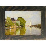 Quadro Decorativo A4 Zaandam 1 - Claude Monet Cosi Dimora