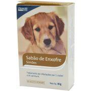Sabão De Enxofre 80g Simões Uso Veterinário Pet Un/1
