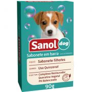 Sabonete Filhotes 90g Sanol Dog Pet Un/1