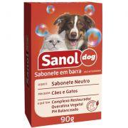 Sabonete Neutro 90g Sanol Dog Pet Un/1