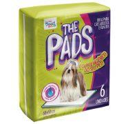 Tapete Higiênico 60x60 The Pads Pet Pt/6