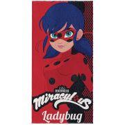 Toalha Banho Felpuda 60x120 Ladybug Un/1