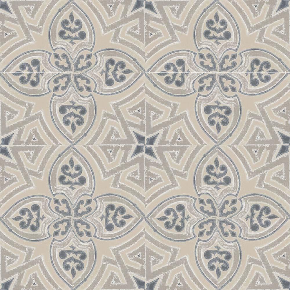 Adesivo para Azulejo Ladrilho Hidráulico Castellon Vinil 15x15cm 16 peças Cosi Dimora