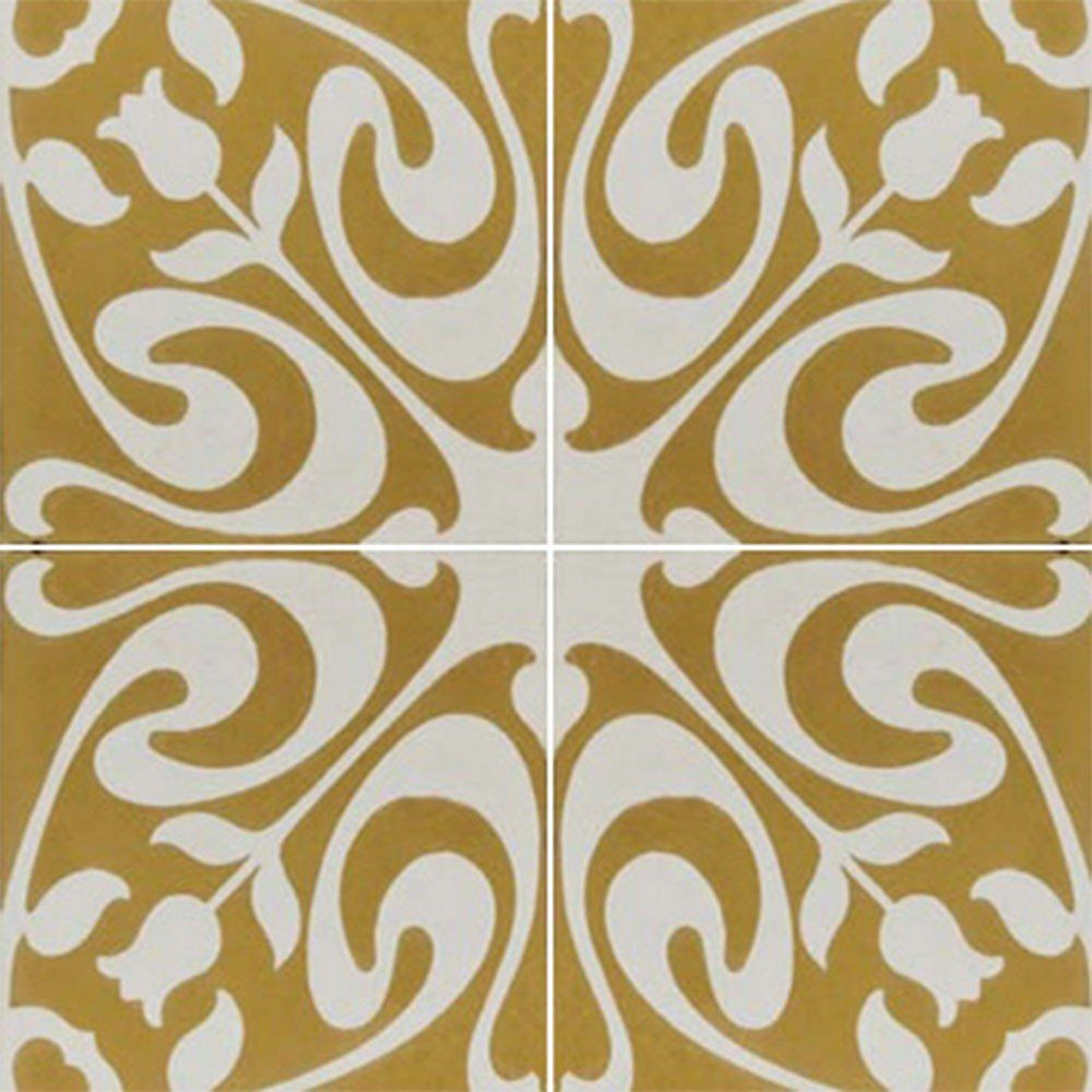 Adesivo para Azulejo Ladrilho Hidráulico Compostela Vinil 15x15cm 16 peças Cosi Dimora