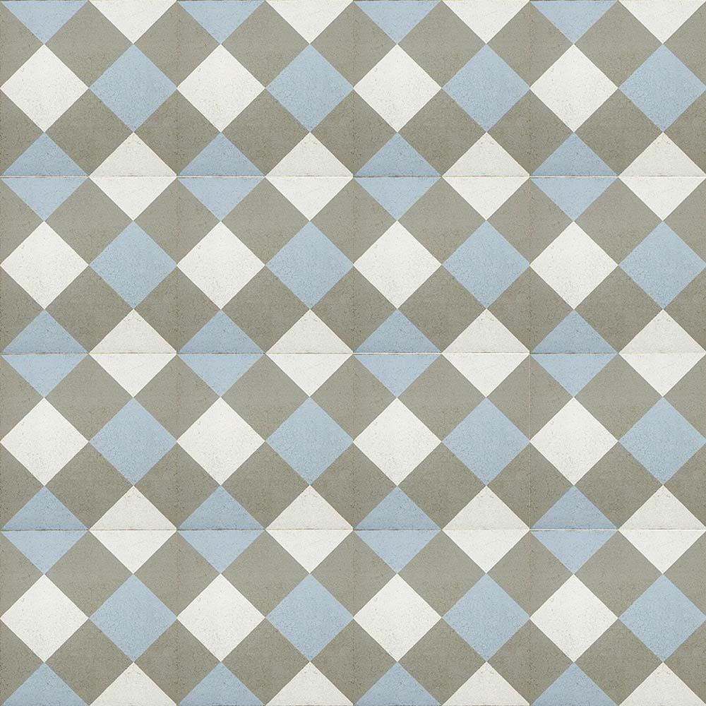 Adesivo para Azulejo Ladrilho Hidráulico Zaragoza Vinil 15x15cm 16 peças Cosi Dimora