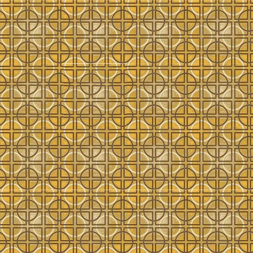 Adesivo para Azulejo Moderno Círculos Vinil 15x15cm 16 peças Cosi Dimora