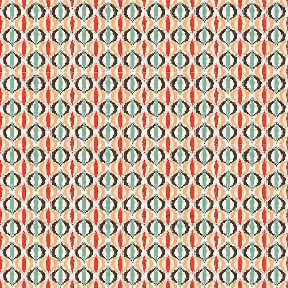 Adesivo para Azulejo Moderno Curvas Vinil 15x15cm 16 peças Cosi Dimora