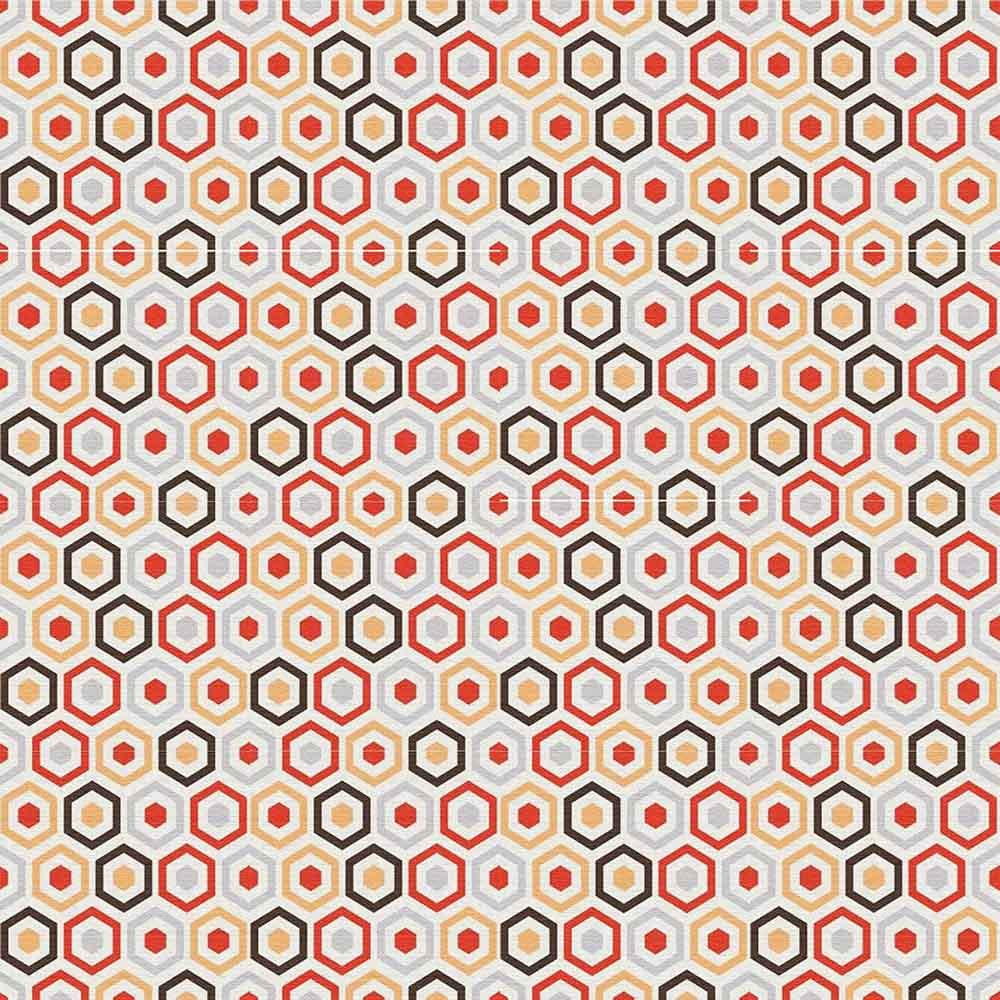 Adesivo para Azulejo Moderno Sextavado Vinil 15x15cm 16 peças Cosi Dimora