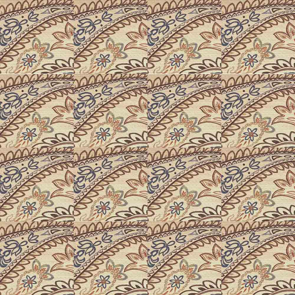 Adesivo para Azulejo Patchwork Arabesco Natural Vinil 15x15cm 16 peças Cosi Dimora