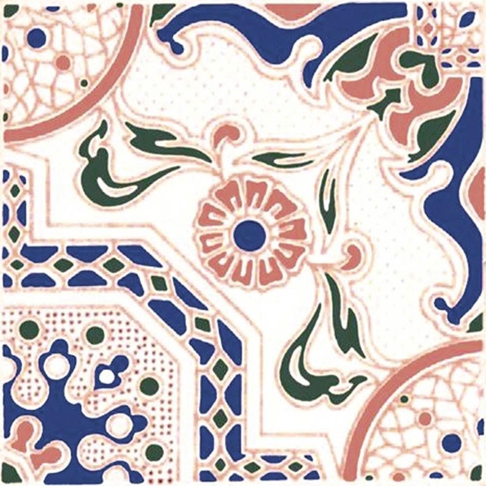 Adesivo para Azulejo Português Braga Vinil 15x15cm 16 peças Cosi Dimora