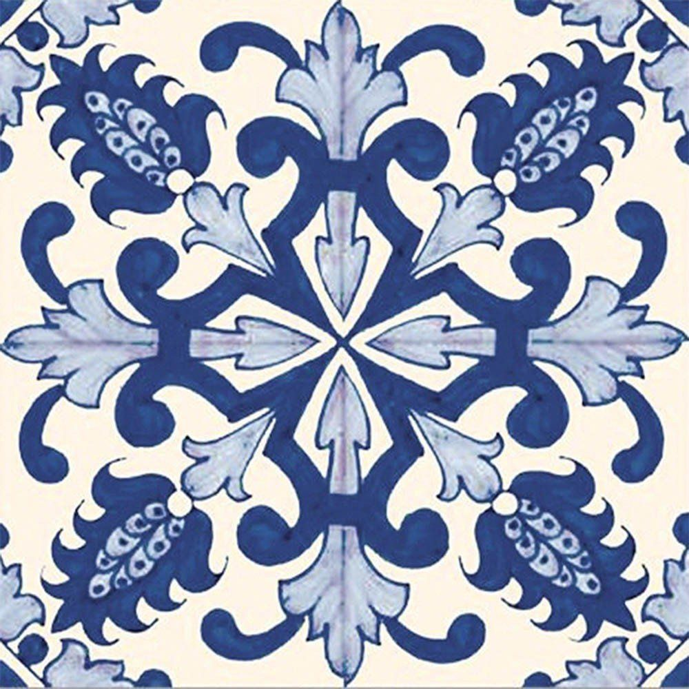 Adesivo para Azulejo Português Chaves Vinil 15x15cm 16 peças Cosi Dimora