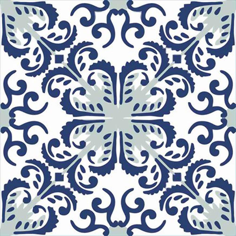 Adesivo para Azulejo Português Mosaico Almada Vinil 15x15cm 16 peças Cosi Dimora