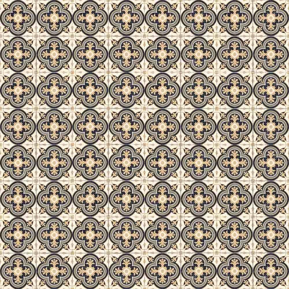 Adesivo para Azulejo Português Queluz Vinil 15x15cm 16 peças Cosi Dimora