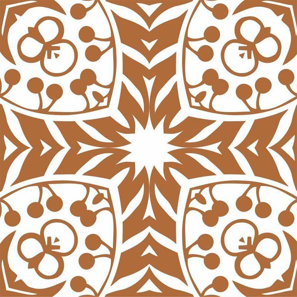 Adesivo para Azulejo Retrô Patota Vinil 15x15cm 16 peças Cosi Dimora