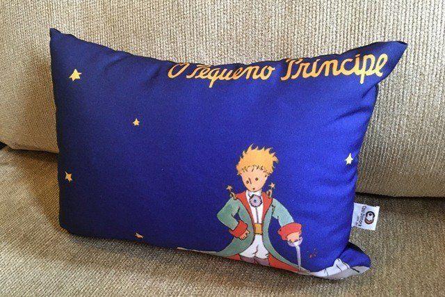 Almofada O Pequeno Príncipe Azul 25x35cm Cosi Dimora