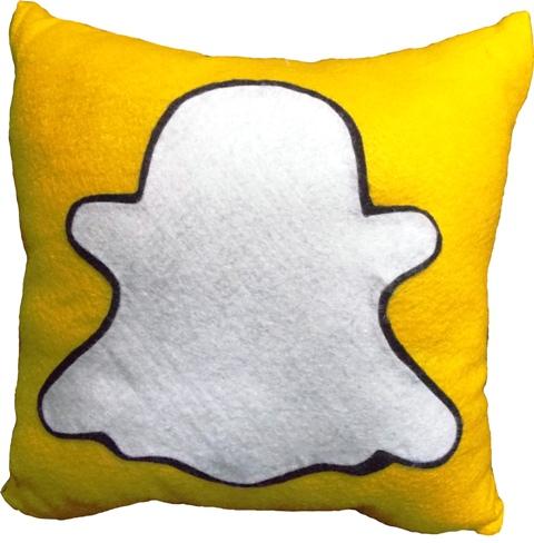 Almofada Snapchat Handmade Sensuelle