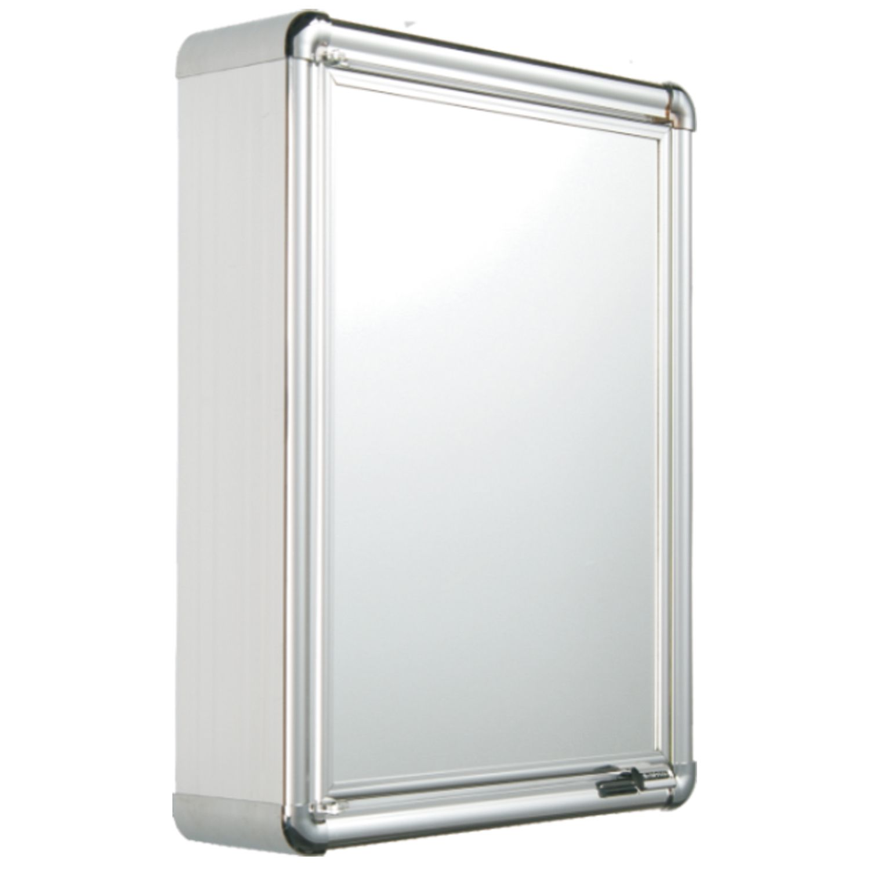 Armário Banheiro Alumínio 35x45x11 Astra Un/1