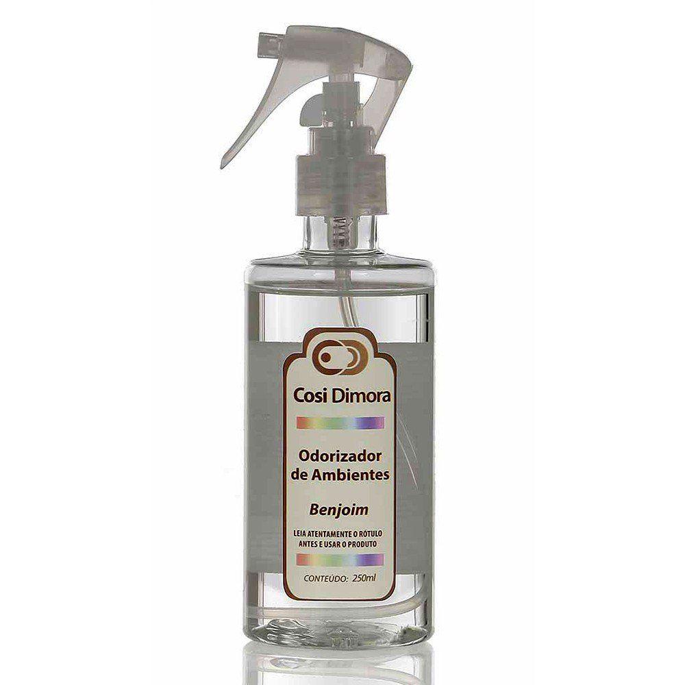 Odorizador Spray para Ambientes Benjoim Essência Importada 250ml Cosi Dimora