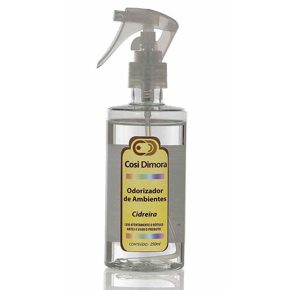 Odorizador Spray para Ambientes Cidreira Essência Importada 250ml Cosi Dimora