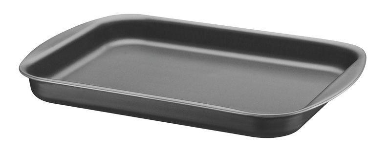 Assadeira rasa Tramontina de alumínio com revestimento interno antiaderente 27 x 20cm