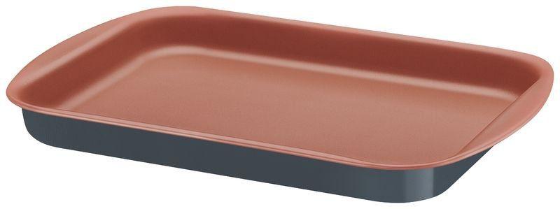 Assadeira rasa Tramontina de alumínio com revestimento interno de antiaderente 39 x 28cm