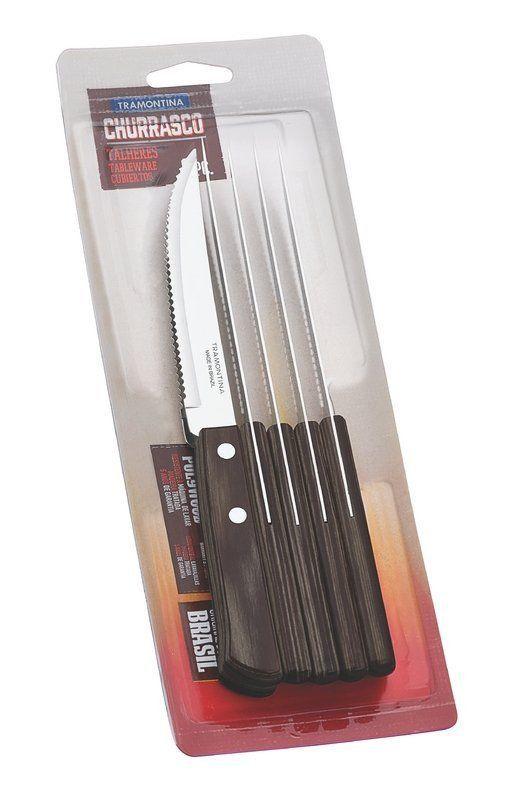 Conjunto de facas para churrasco Tramontina 6 peças