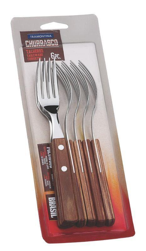 Conjunto de garfos de mesa Tramontina 6 peças