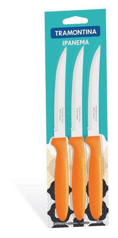Conjunto facas para churrasco Tramontina 3 peças