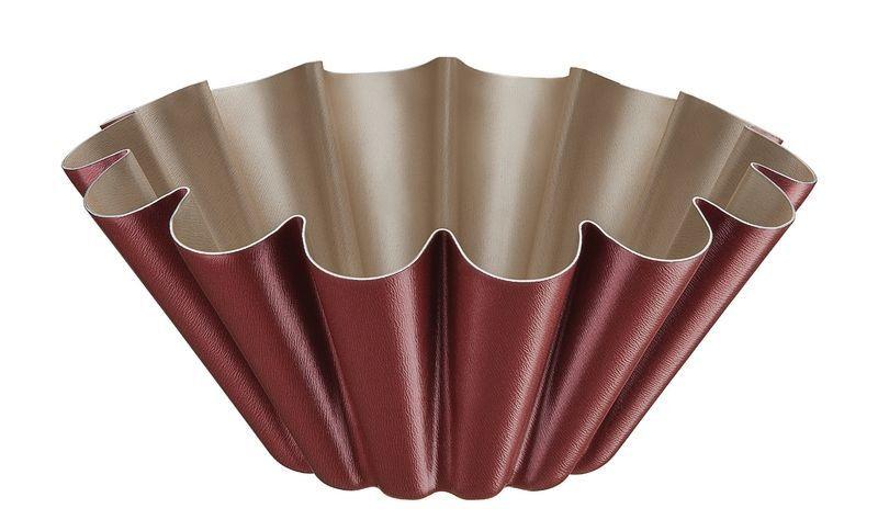 Forma para brioche Tramontina de alumínio com revestimento interno antiaderente Ø21cm