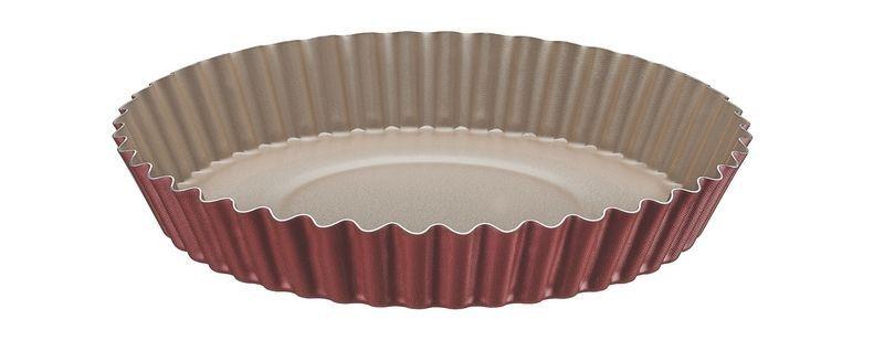 Forma para torta e bolo Tramontina de alumínio com revestimento interno antiaderente 22cm