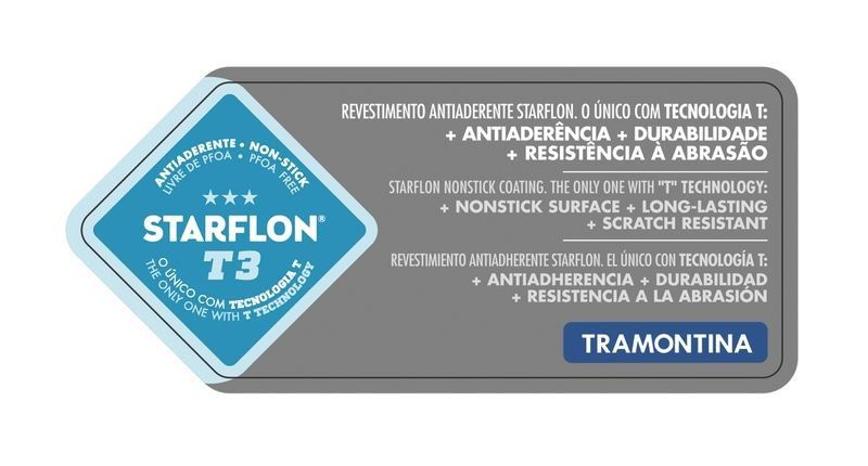 Frigideira profissional Tramontina alumínio antiaderente 32cm