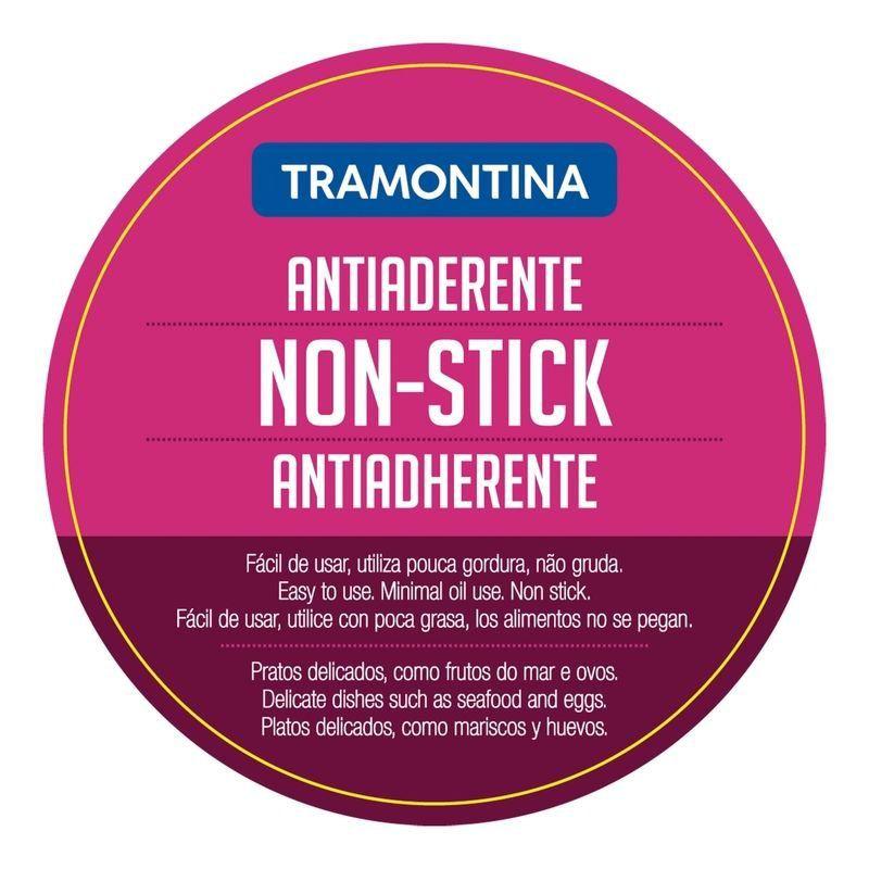 Frigideira Tramontina aço inox revestimento antiaderente Ø20cm