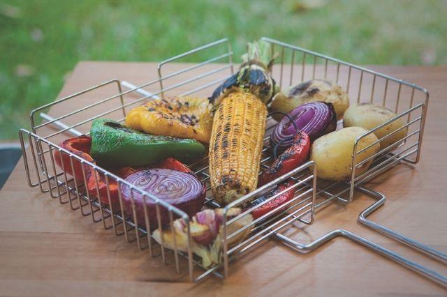 Grelha aço inox para legumes Tramontina 67cm