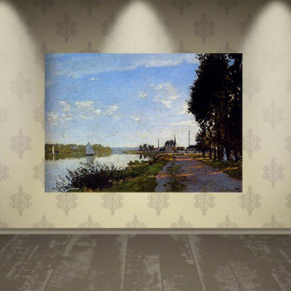 Pôster Decorativo A4 Argenteuil 1 - Claude Monet Cosi Dimora