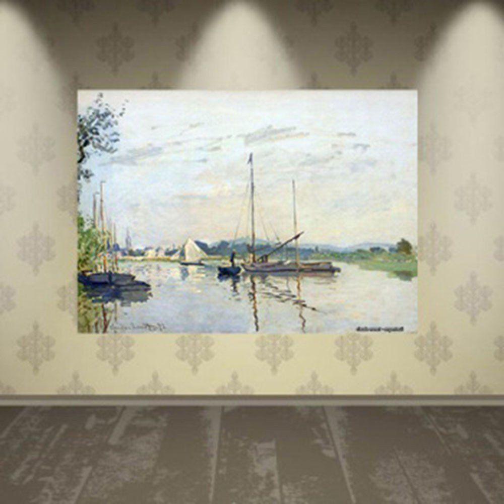 Pôster Decorativo A4 Argenteuil - Claude Monet Cosi Dimora