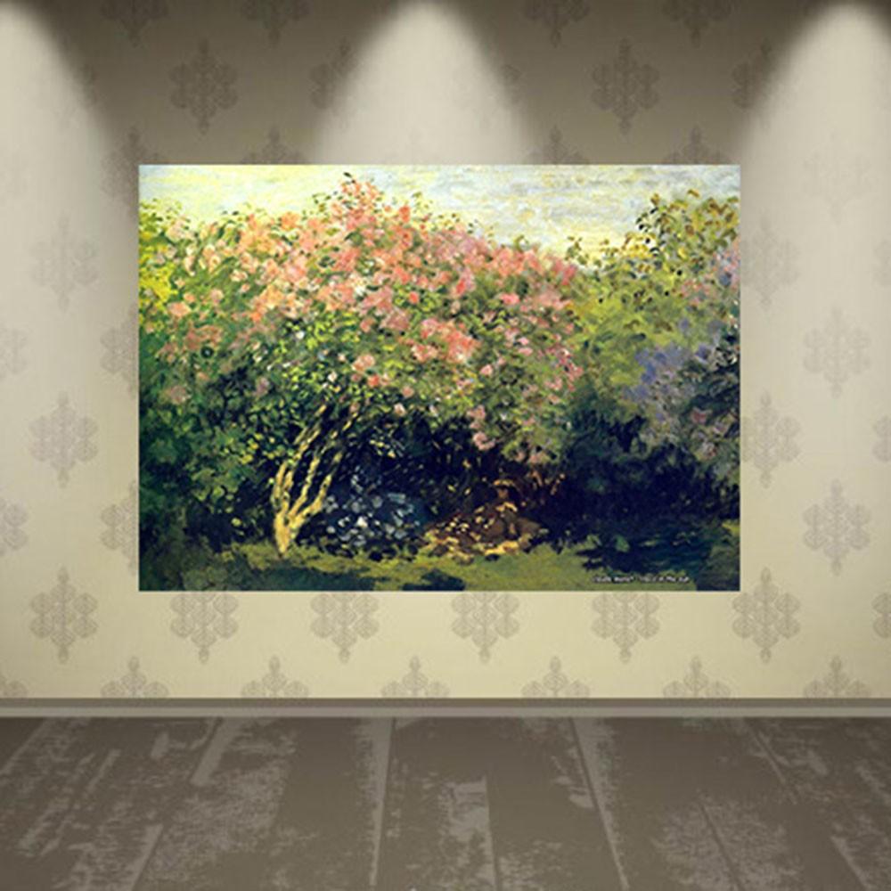 Pôster Decorativo A4 Lilacs in the Sun - Claude Monet Cosi Dimora
