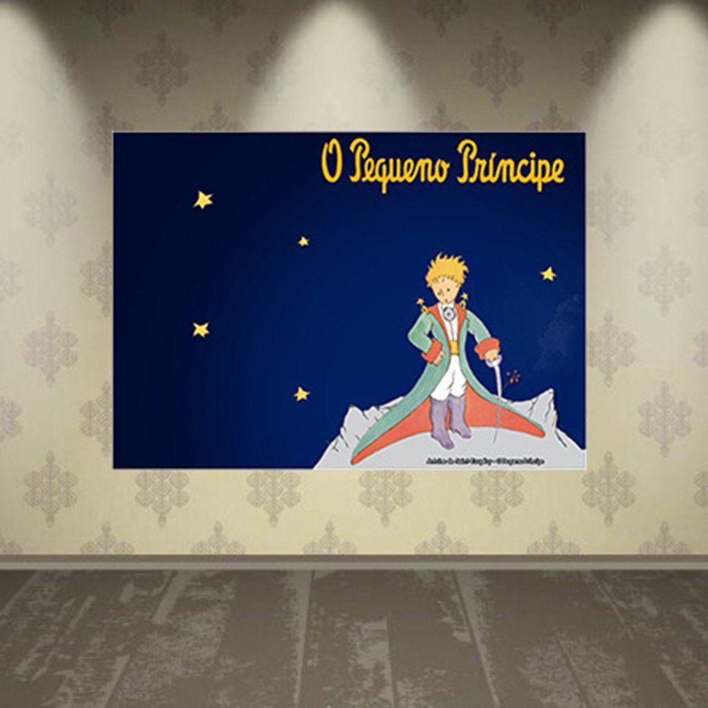 Pôster Decorativo A4 O Pequeno Príncipe 2 - Antoine de Saint-Exupéry Cosi Dimora
