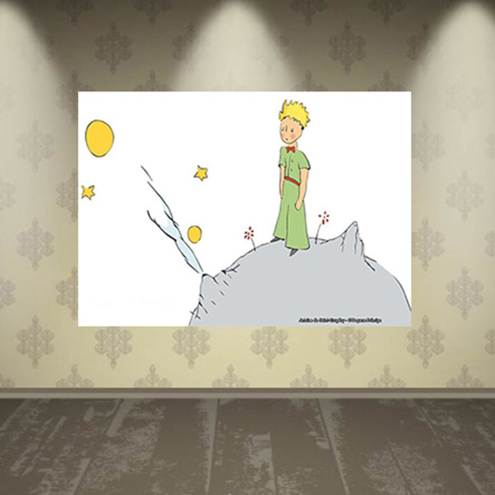 Pôster Decorativo A4 O Pequeno Príncipe Cosi Dimora