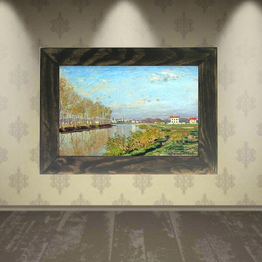 Quadro Decorativo A4 Argenteuil the Seine - Claude Monet Cosi Dimora