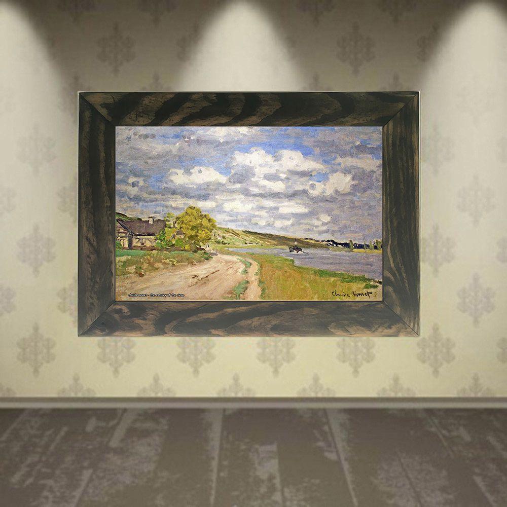 Quadro Decorativo A4 The Estuary of the Siene - Claude Monet Cosi Dimora