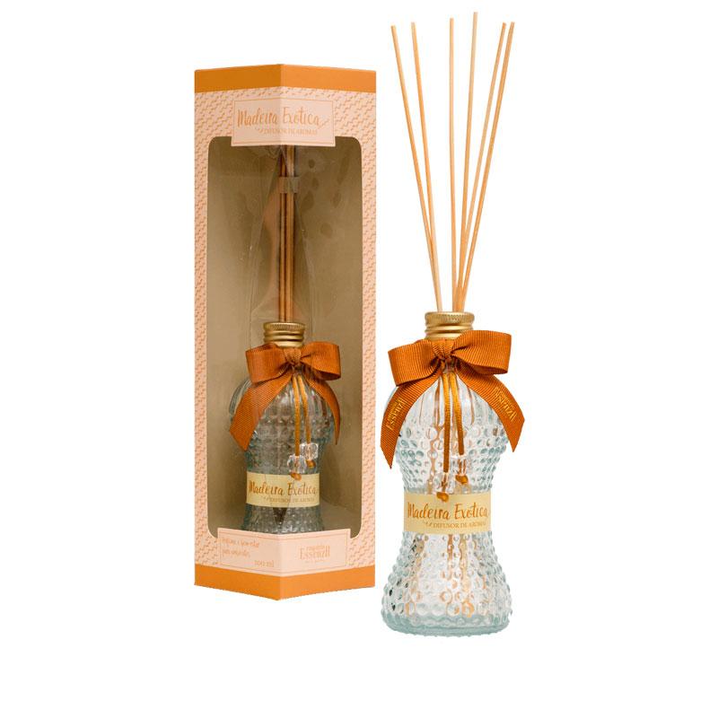 Difusor de Aromas Madeira Exótica 100 ml  - Empório Essenza