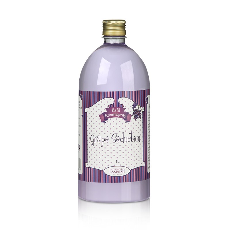 Refil Aromatizador de Ambientes Room Spray Grape Seduction 1l