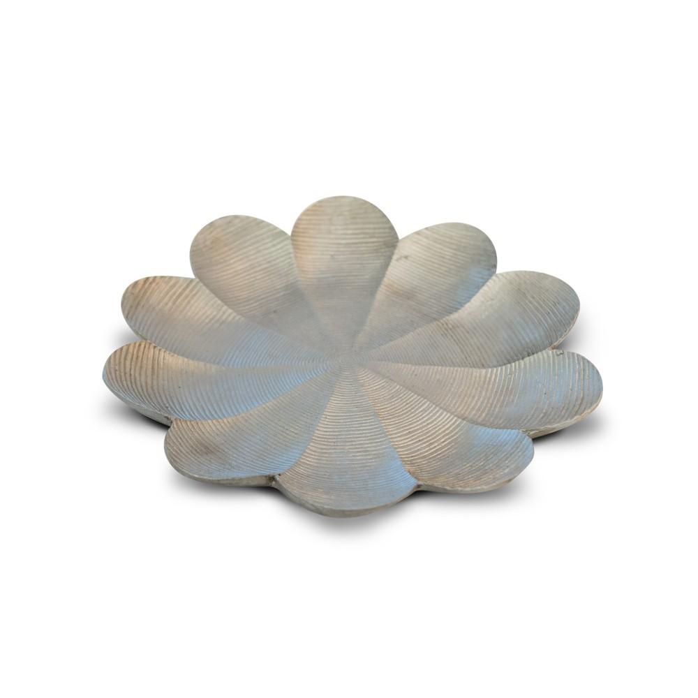 Bandeja em resina modelo flor MM02