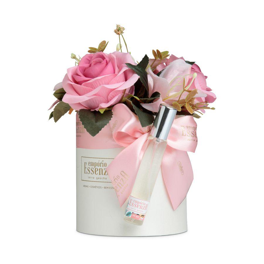 Box Flowers - Rosa