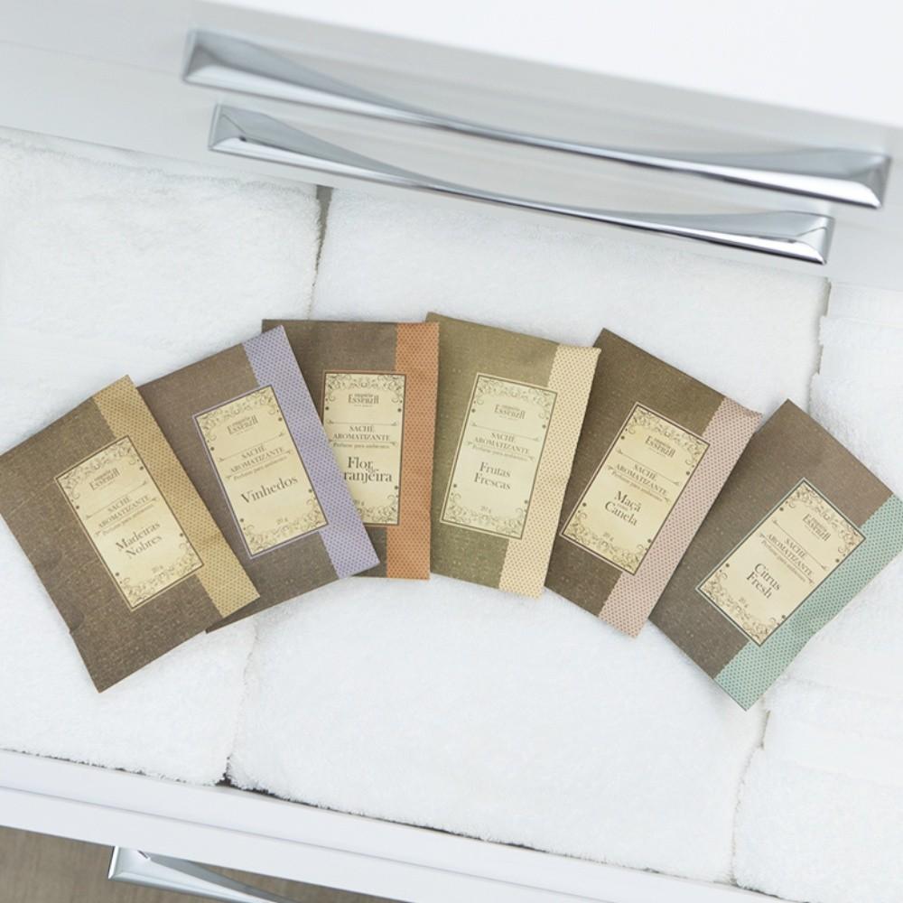 Caixa Envelopes Sachês Aromatizantes com 6 unidades