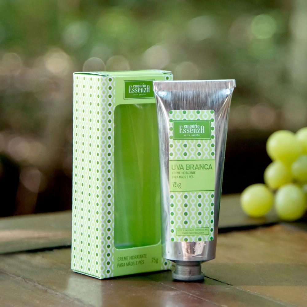 Creme Hidratante para Mãos e Pés Uva Branca 75g