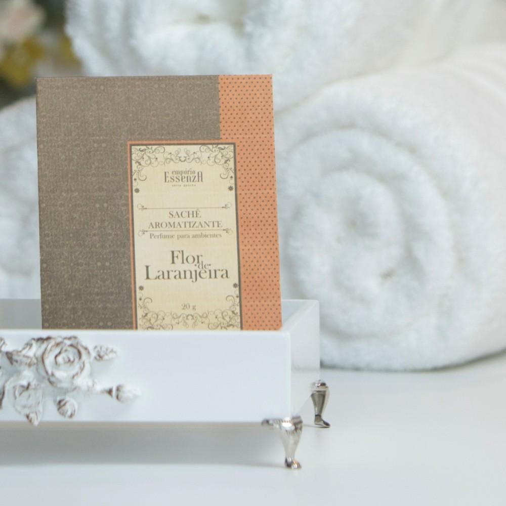 Envelope Sachê Aromatizante Flor de Laranjeira 20g