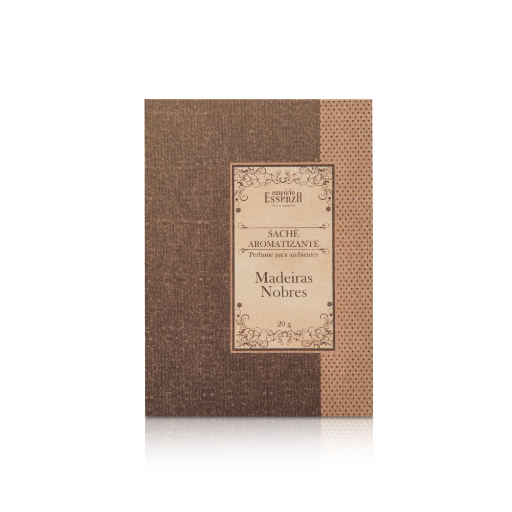 Envelope Sachê Aromatizante Madeiras Nobres 20g